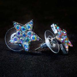 AB star earrings