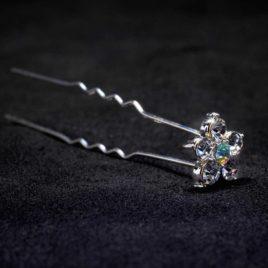 crystal AB star pin