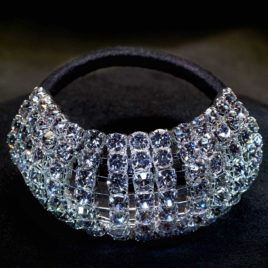 crystal ponytail wrap