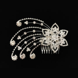 Hair Comb – Shooting Stars – Crystal